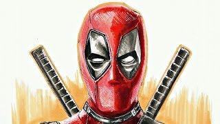 Deadpool (2016) Drawing [ Fast Sketch #3 ] by Fast Art