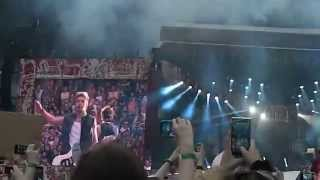 One Direction - Rock Me live at Etihad Stadium Manchester - 1st June 2014 - WWATour