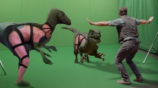 All Hollywood VFX Removed! What Movies Really Look Like width=
