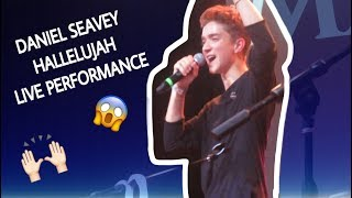 "Daniel Seavey ""Hallelujah"" Live Cover Why Don't We Celebrate Nathan"