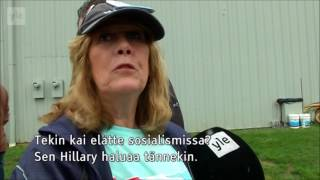 Trump supportress - Denmark is a socialism country