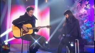 """Nolwenn Leroy et Bastian Baker chantent """"Hallelujah"""" à Noël sous les étoiles sur France 3"""