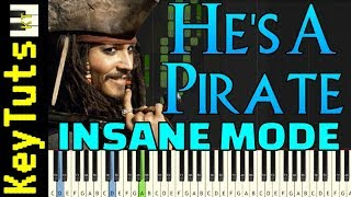 Learn to Play He's A Pirate from Pirates of the Caribbean - Insane Mode