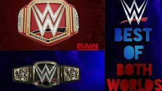 WWE Best of both worlds by CFO$ (HD)!!!!Full song!!