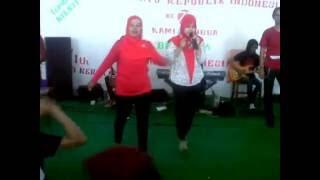 lomba karaoke(HUT RI 71 PT JAGO ARTO INDONESIA