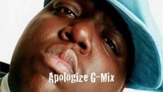 "Apologize G-Mix ""Demetrius Richardson Ft. J. Rah"""