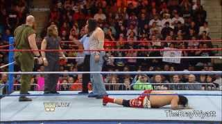 Raw Old School: The Wyatt Family y Daniel Bryan vs. The Usos y Rey Mysterio