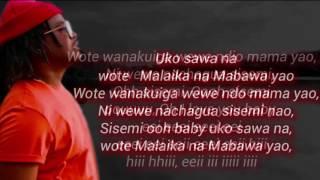 Nyashinski - Malaika lyrics width=
