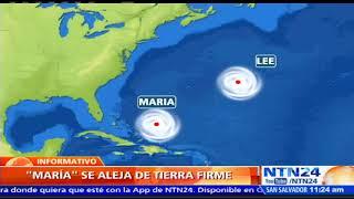 Tormenta tropical Lee se convertiría en huracán y María se aleja de tierra