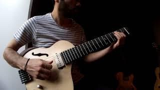 7 String Microtonal Guitar - improvisation No:2 - Bilal Karaman