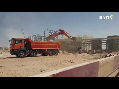 Video :  Phosboucraa : La future usine de lavage et flottation réalisée à 45%
