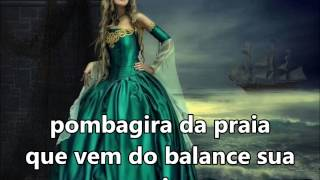 """Pombagira da Praia """"Cadé morena da praia"""" Martin de Xango SUBTITULADO Y CON LETRA"""