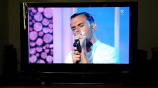 Hurts - Ohne dich (selig Cover) on german TV show