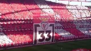 Benfica Hino,lindo,arrepiante,jogo com o Sporting.