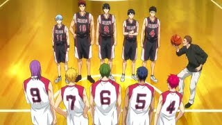 Kuroko No Basket Last Game「AMV」- Let's Get This Started Again