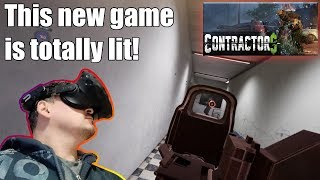 Contractors - This new VR team-based multiplayer shooter is totally lit!