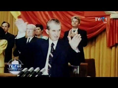 Echipa de protocol de grad zero a Televiziunii Publice şi viaţa lângă Ceauşescu