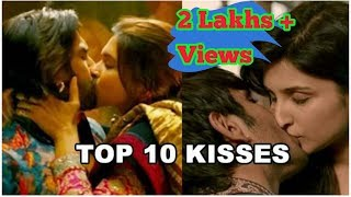 Top 10  kiss collection: Bollywood best kisses width=
