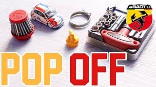 Come Montare un Filtro POP OFF su 500 Abarth | How to install POP OFF Filter