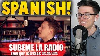 Enrique Iglesias - SUBEME LA RADIO ft. Descemer Bueno, Zion & Lennox REACTION