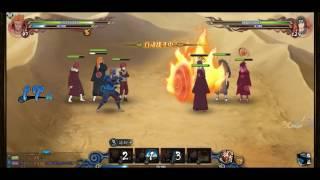 Naruto online: ninja exam level 194 (vs Uchiha)
