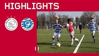 Highlights Ajax O16 - De Graafschap O16