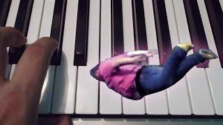 Shooting Stars Meme / Piano Tutorial / Notas Musicales