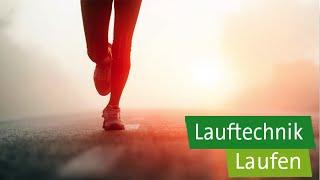 Laufen – Gesunde Lauftechnik: Schritte, Haltung, Atmung