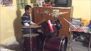SYSTEM OF A DOWN TOXICITY DRUM COVER TONY SANCHEZ