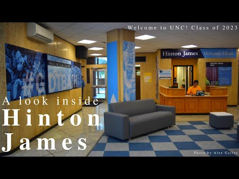 We take you inside Hinton James Residence Hall to show you around an eight-person suite. This video will give you a feel for what many of UNC-Chapel Hill's first-year dorms on South Campus are like, including Hinton James, Craige and Ehringhaus.    If you're looking for more info on what your living space will look like before you get to Carolina in August, check out our article that breaks down each dorm style here: https://www.dailytarheel.com/article/2018/08/dorm-room-guides-0811  Editor's note: Although most dorms are technically co-ed, every suite is single-sex. Graham is male-only, and Aycock is female-only. However, if you feel uncomfortable with your room assignment because of your gender identity, don't hesitate to send us a message and we will help in any way we can.  As always, don't hesitate to let us know if you have any other questions. You can leave us a comment, send us a message on Facebook, or email us at editor@dailytarheel.com.  Welcome to UNC! is a community created by The Daily Tar Heel to guide you through the first-year and transfer student experience at UNC-Chapel Hill. We want to answer questions, address concerns and provide a community experience for new students to the University. Join here: https://www.facebook.com/groups/welcometounc2023  Video by Brandon Standley.