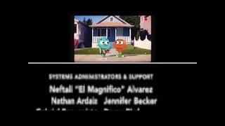 My Monsters inc. CN split screen credits