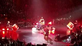 Go Lars! - Metallica Now That We're Dead - Drums Jam 5/17/17 NY Nassau Coliseum Drums