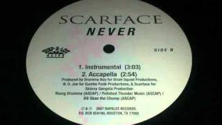 Scarface - Never (Instrumental)