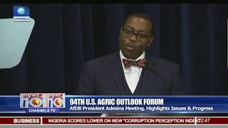 94th US Agric Outlook Forum: Adesina Highlights Issues & Progress