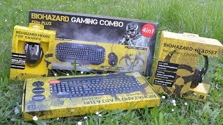connect IT Biohazard Gaming Combo Elite Plus | Test