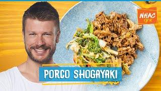 PORCO SHOGAYAKI: veja como fazer carne cortada em lâminas bem fininhas   Tempero de Família