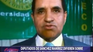 Diputados de Sánchez Ramírez difieren sobre transparencia en uso de fondos mineros