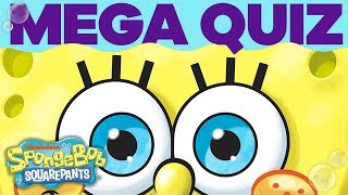 Test Your Knowledge with the Superfan Megaquiz 🤔 | SpongeBob