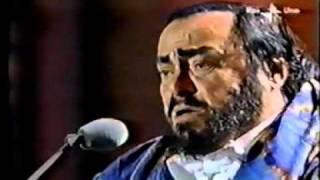 Grace Jones with Pavarotti