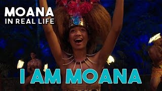 I AM MOANA (Song of the Ancestors) Official Moana/Vaiana Music Video in Real Life by WWL with lyrics width=