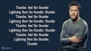 Thunder - Imagine Dragons (Lyrics) 🎵