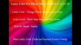 Lucky Color | Increase Positive Energy | Decrease Negative Energy in Your Body
