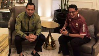 Sandiaga Bertemu AHY, Berikutnya Pertemuan Prabowo-SBY