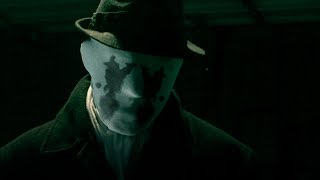 Rorschach mask from Watchmen