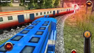 Indian Railway 3 D effect Train race II Train wala game #3
