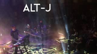 Alt-J concert @Funkhaus