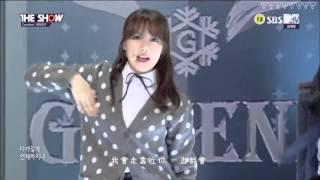 [繁中] 160126 GFRIEND (여자친구) - ROUGH(시간을 달려서) @The Show 中字