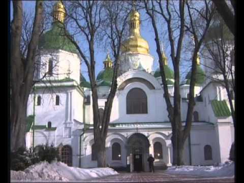 2005 01 25 2 Kyiv Ukraine Cathedral St Sofia Bell Ringing