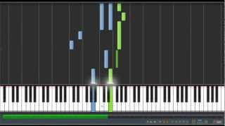 Lyra's Song - Fairy Tail [Piano Tutorial] (Synthesia)