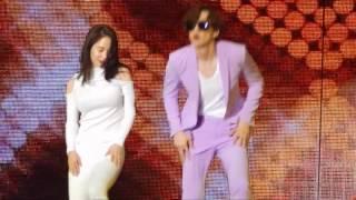 170325 宋智孝(Song Ji Hyo)&李光洙(Lee Kwang Soo) Couple Dance( Who's Your MaMa)@RMFM in HK